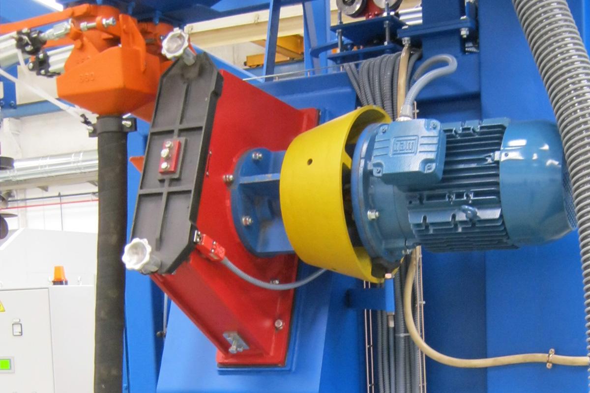 Turbinas Proyectoras de Granalla