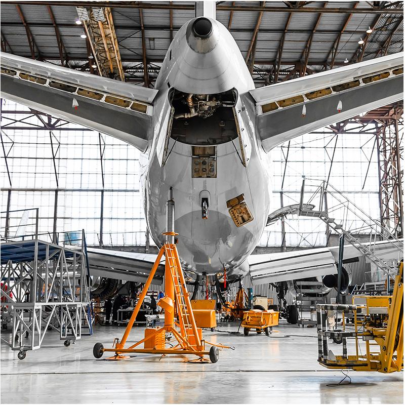Granallado en la industria Aeronáutica