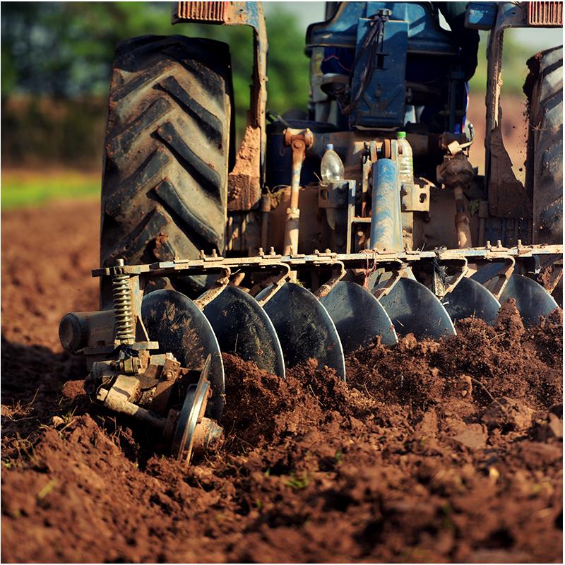 Granallado en la fabricación de maquinaria agricola