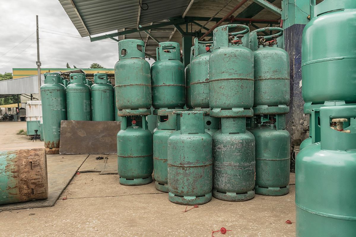 Granallado Mantenimiento Botellas Gas