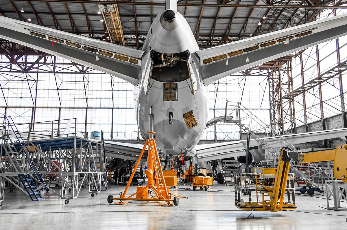 Granallado en Industria Aeronáutica
