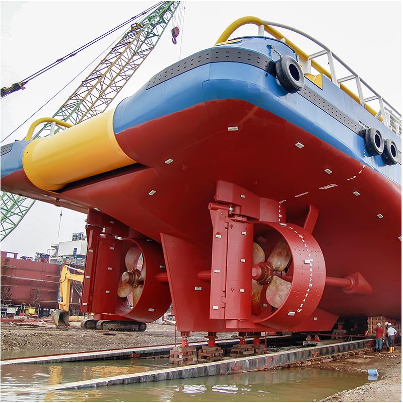 Granallado en Industria Naval