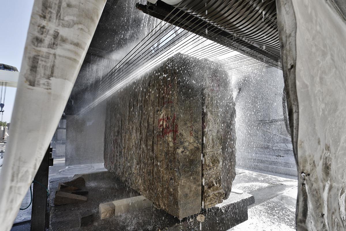 Granallado en Industria de Piedras y Granitos