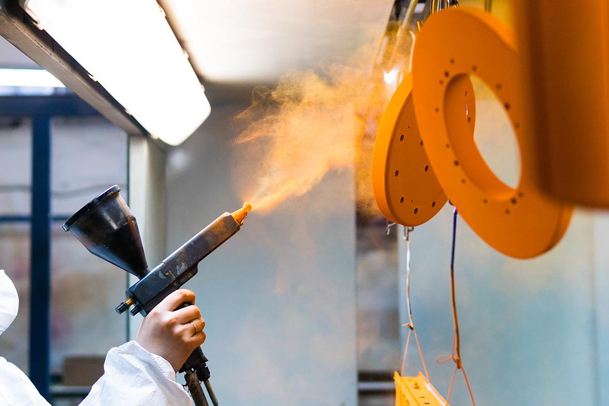 Granallado en Industria Pinturas y Barnices