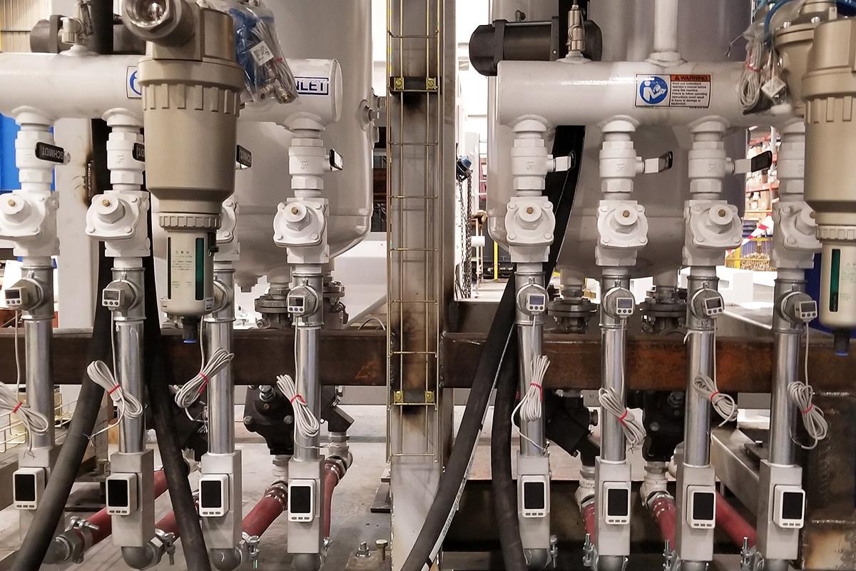 Máquinas Automáticas de Shot peening